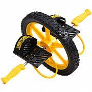 Core Wheel - Roda de Exercício com apoio para os pés