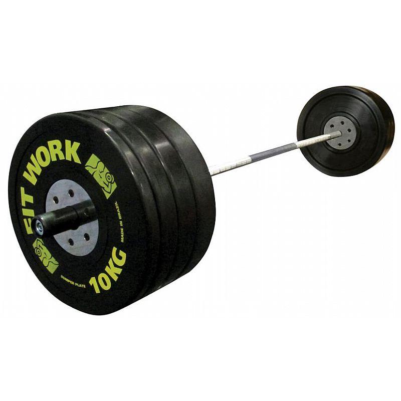 Kit Bumper Plate  (2 pç Anilhas de 10, 15, 20, 25 kg) - 140kg