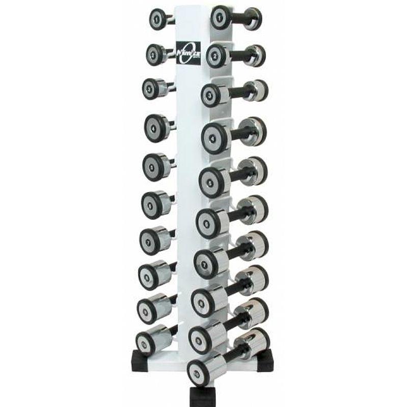 Suporte Torre Vazado p/ 10 pares halteres